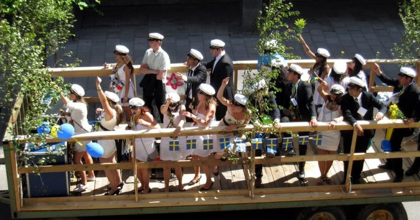 Swedish graduation is very special | © Rinse / Flickr