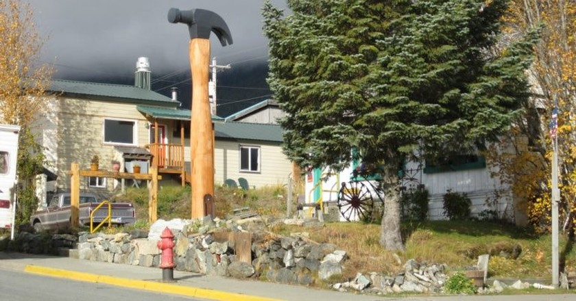 The Hammer Museum in Haines, Alaska