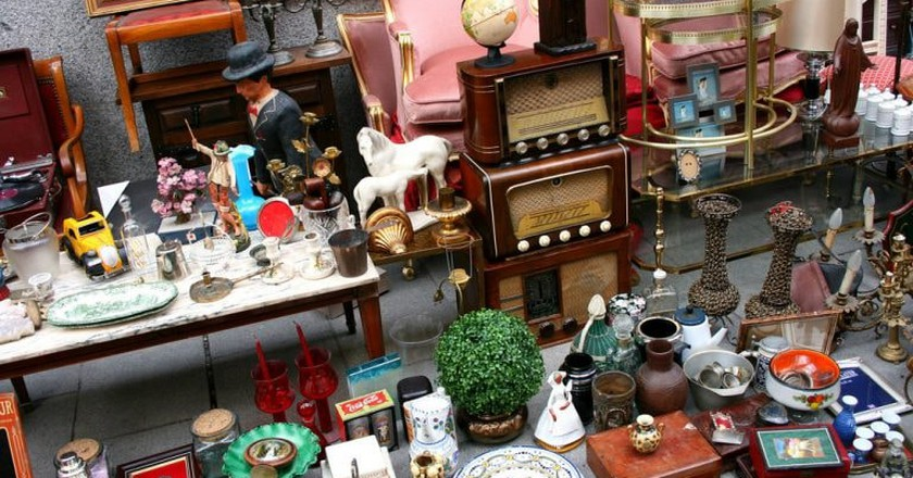 Antiques at El Rastro