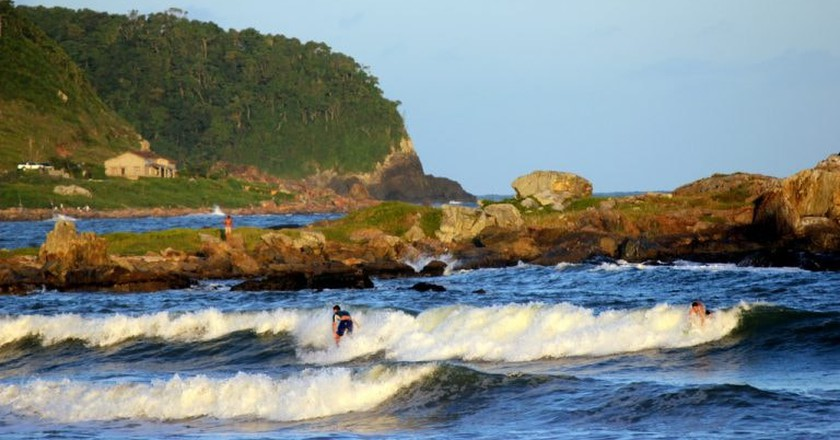 Hit the waves in Brazil