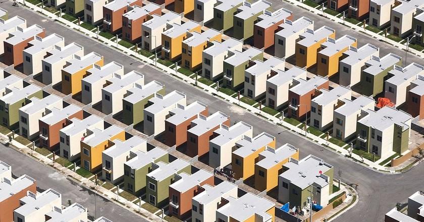 "An aerial photograph from the ""Alta Densidad"" series   © Jorge Taboada"