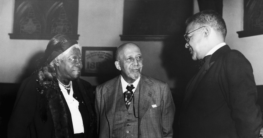 Anderson with W.E.B. DuBois