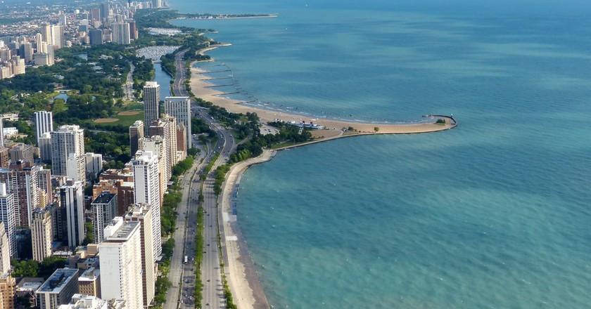 Lake Michigan provides Chicagoan with 24 unique beaches.