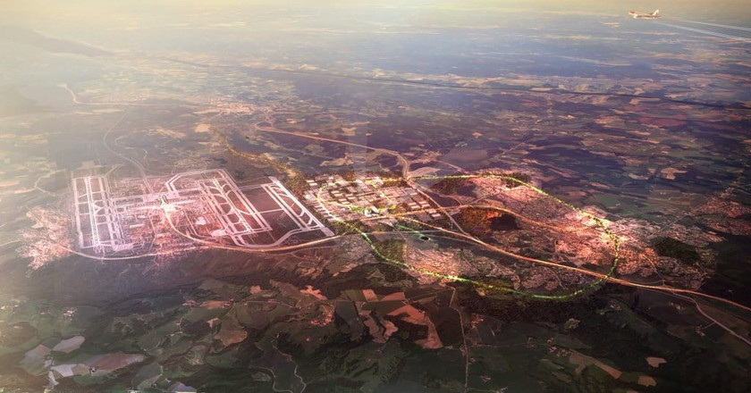 A view of Oslo Airport City