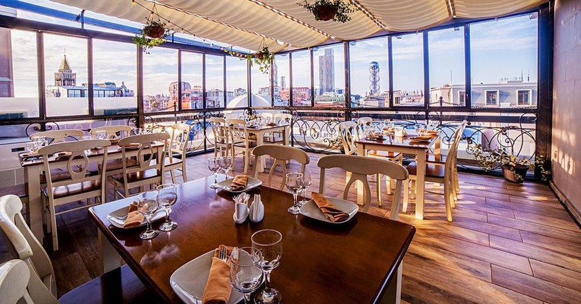 The restaurant at The Admiral Hotel in Batumi | Courtesy of Booking.com