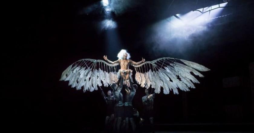 "Amanda Lawrence in ""Angels in America"""