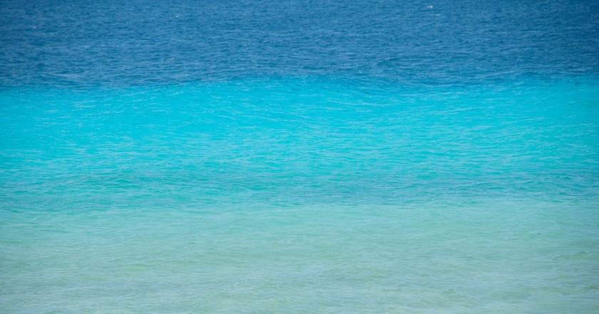 Take a dip in the Caribbean Sea