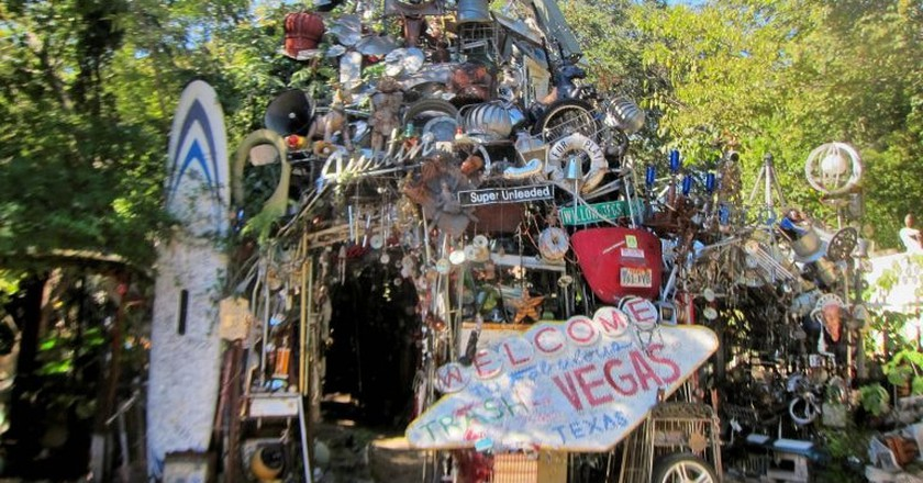 Cathedral of Junk Entrance