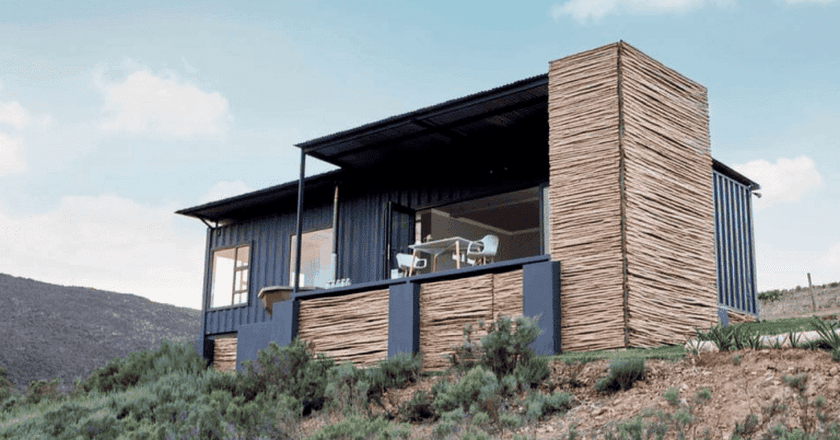 Bot River, Western Cape, container home