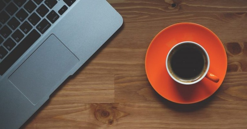 The coffee and laptop lifestyle