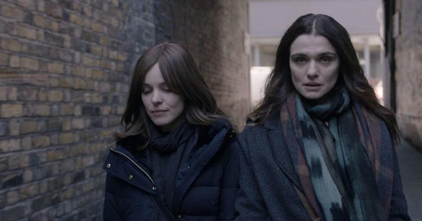 """Rachel McAdams and Rachel Weisz in """"Disobedience"""""""