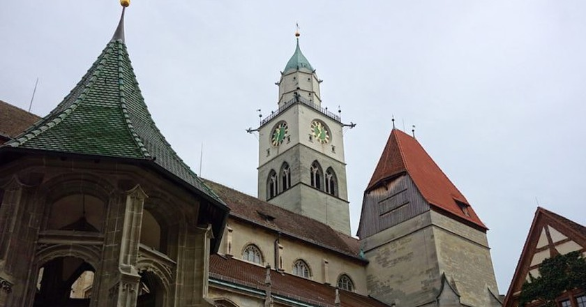 The church of St. Nikolaus looks out over the medieval town of Überlingen   © Feride-Yalav-Heckeroth