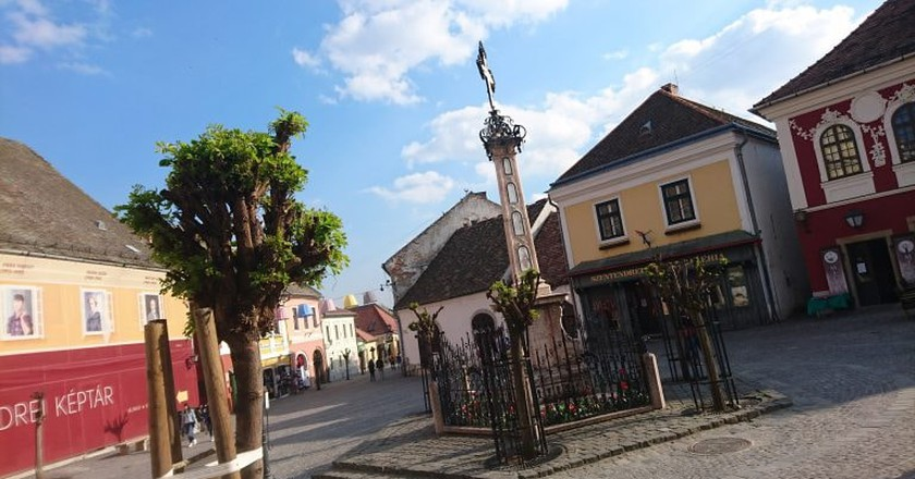 The town square at Szentendre | ©