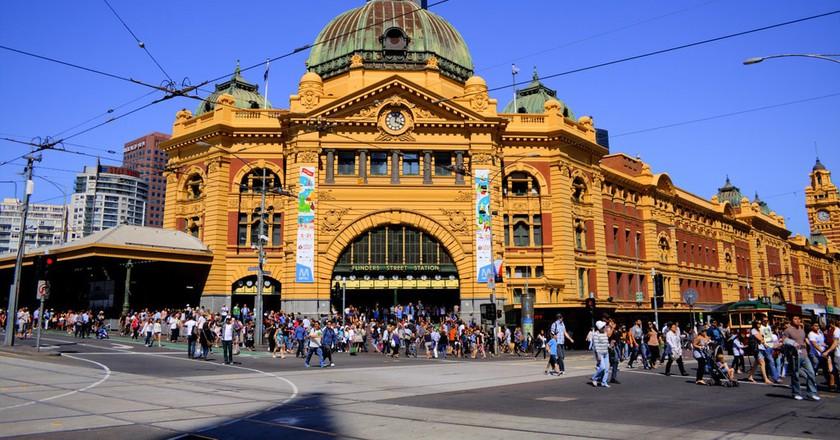 Flinders St Station, Melbourne