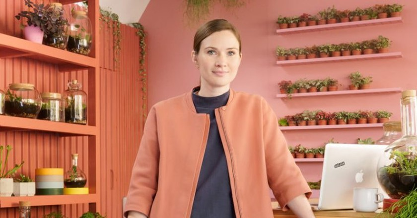 Emma Sibley, founder of London Terrariums