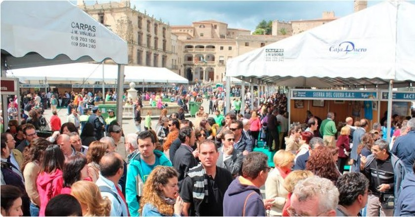 Visit Spain's National Cheese Festival in Trujillo