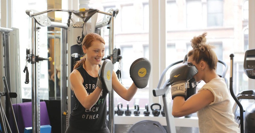 This New York Fitness Studio is Making Women Stronger in More Ways Than One