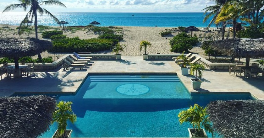 The Meridian Club pool