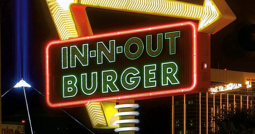 In-N-Out Burger on Tropicana Avenue