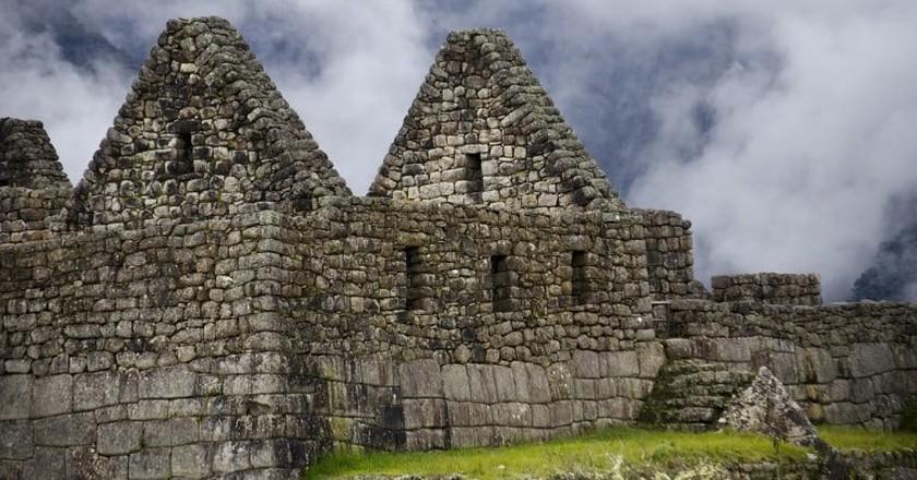 Ancient walls of Machu Picchu