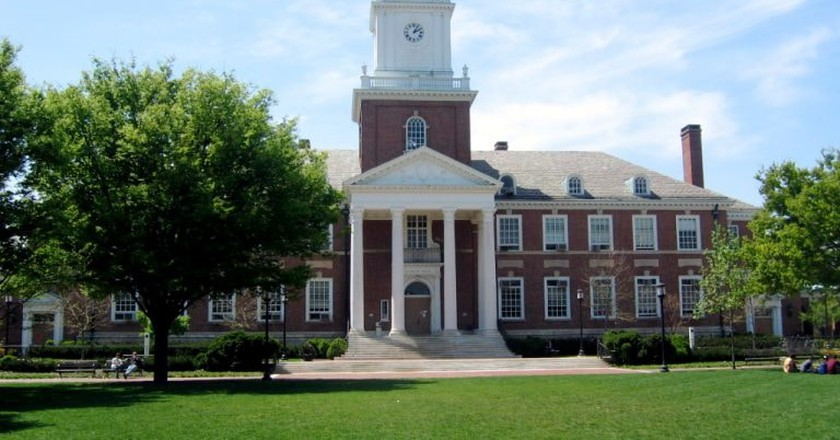 Gilman Hall, Johns Hopkins University, Baltimore, Maryland