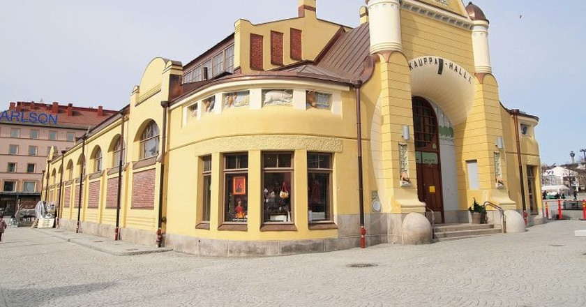 Kuopio Market Hall is a great place to stop for coffee.