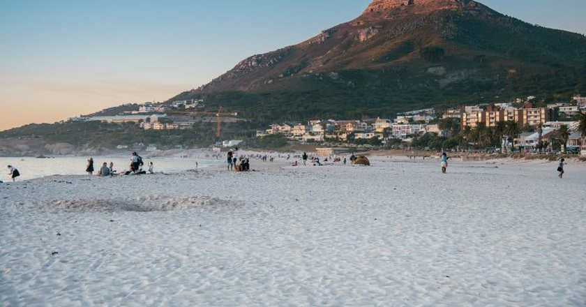 Lion's Head from Clifton Beach, Cape Town