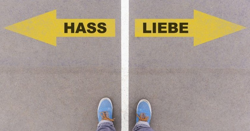 Love and Hate in German