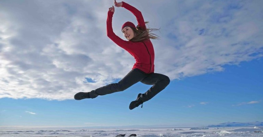 Madeline Graham in Antarctica: The First Dance