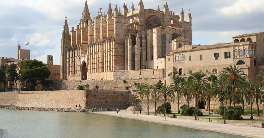 Palma's famous cathedral