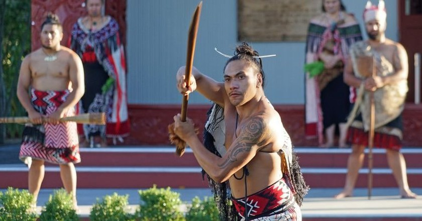 Maori culture plays an important role in New Zealand
