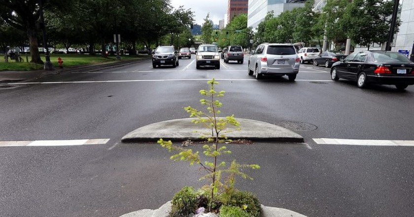 Mills End Park is the smallest park in the world