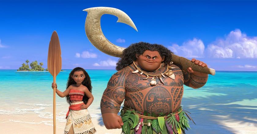 Moana & Maui from the Disney film | © Brenda Rochelle / Flickr