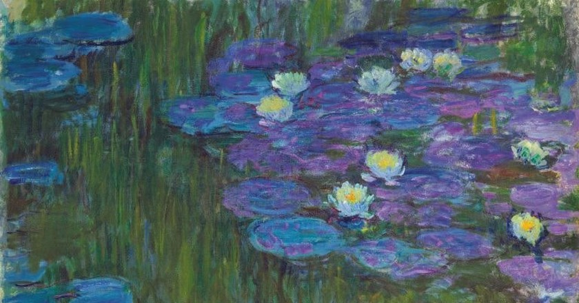 Claude Monet, 'Nymphéas en fleur,' circa 1914–1917. Estimate in the region of $50 million
