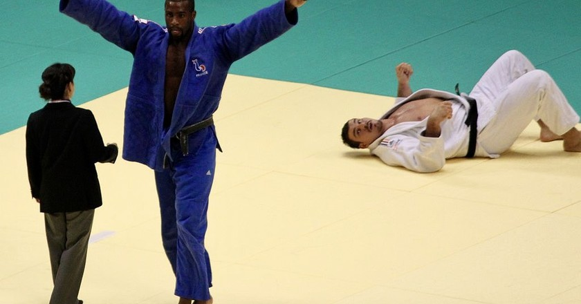 Teddy Riner is one of the greatest judokas of all time, if not the best
