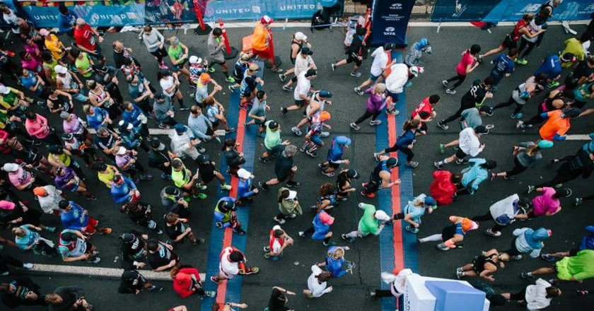 2017 New York City Marathon   © NYRR