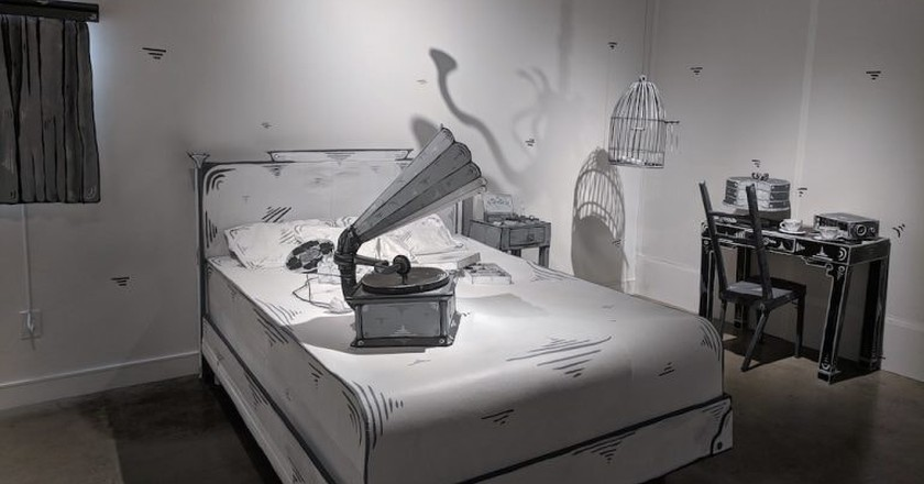 """Dosshaus' """"Paper-Thin Hotel"""" at the Corey Helford Gallery"""