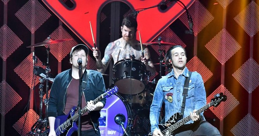 Fall Out Boy are touring the UK
