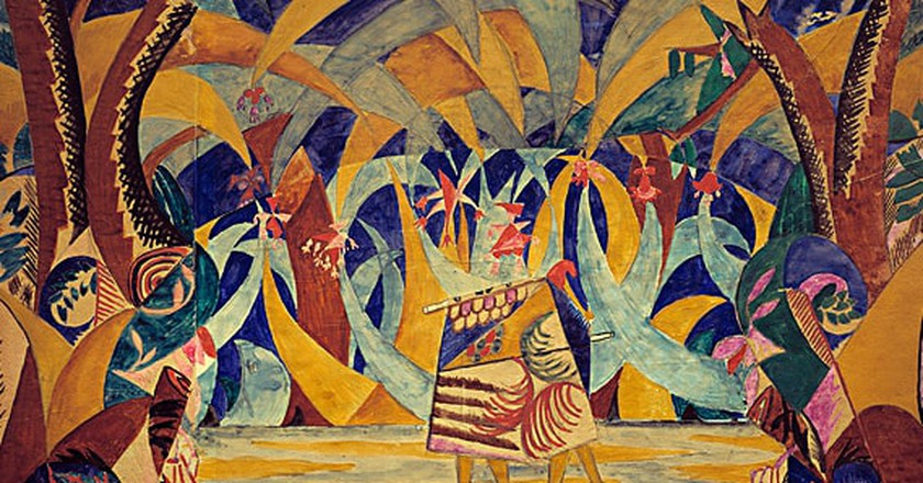 Russian Tales by Larionov   © Wikimedia Commons