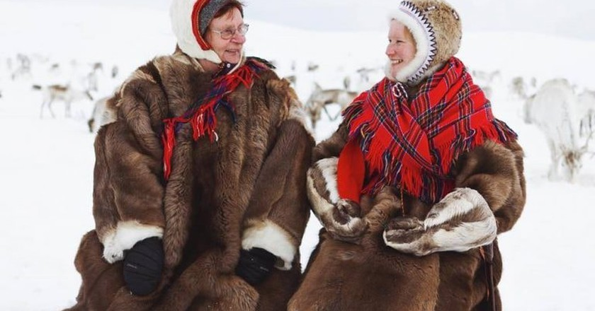 Sami women