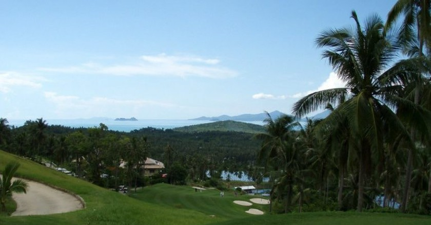 Views across Santiburi Samui Country Club