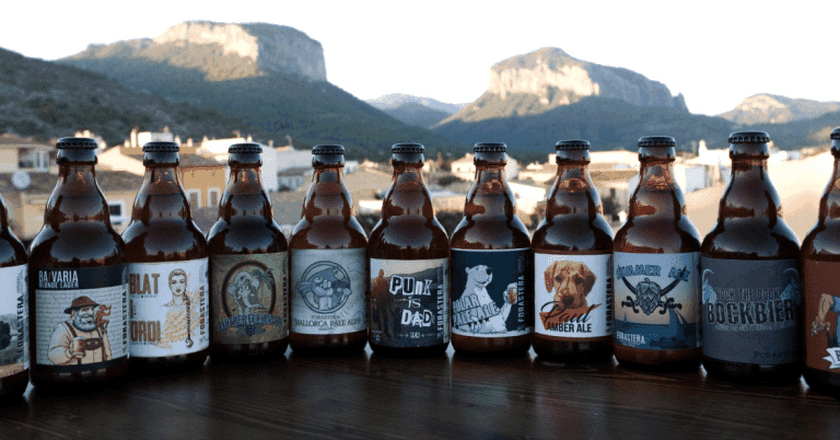 Selection of Forastera Beers