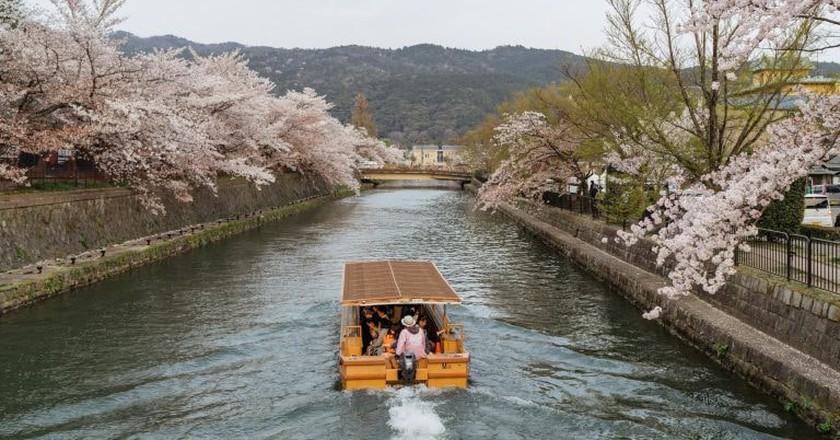 Okazaki Canal, Kyoto