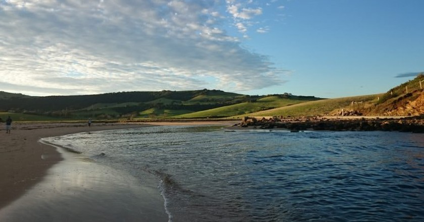 Gerringong has several beautiful beaches to relax on