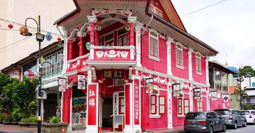 Red House building, Johor Bahru, Malaysia