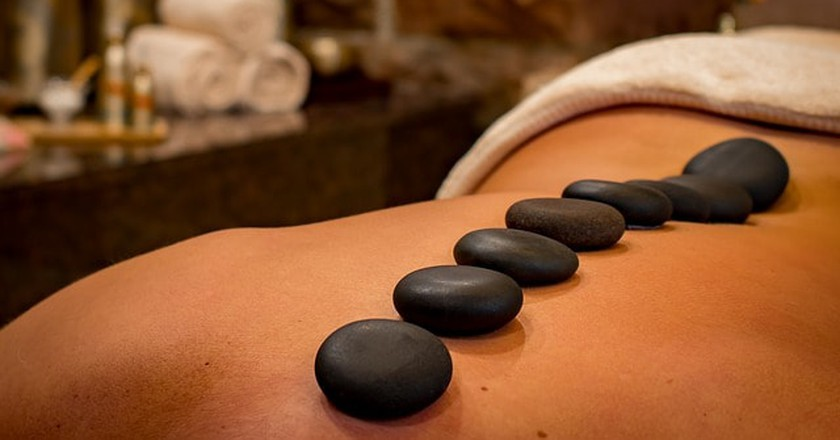 Unwind with a relaxing spa treatment.