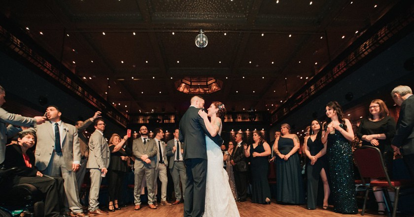 A wedding at White Eagle Hall in Jersey City, NJ.