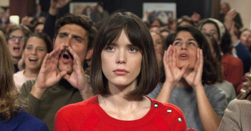"Stacy Martin in ""Godard Mon Amour"""