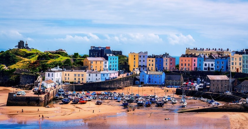 Tenby, Wales inspired Roald Dahl's books