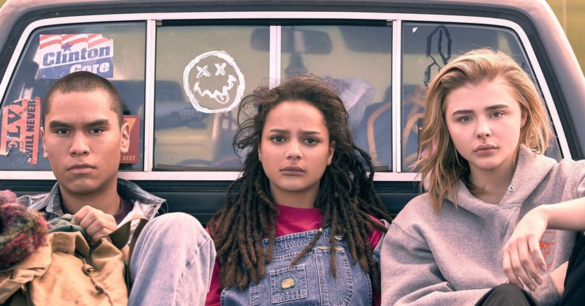 Forrest Goodluck, Sasha Lane and Chloë Grace Moretz appear in 'The Miseducation of Cameron Post' by Desiree Akhavan